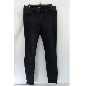 refuge push up black skinny jeans
